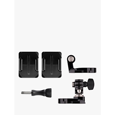 Mens GoPro Action Camera Front and Side Helmet Mount for All GoPros in Black