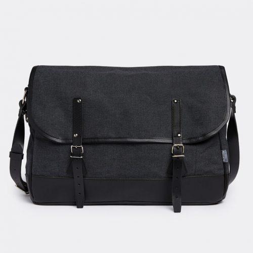 Mens Porter Yoshida & Co Sportive Shoulder Bag in Grey