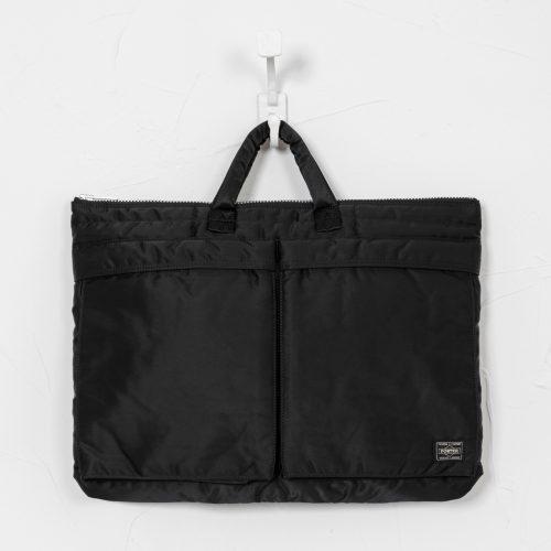 Mens Porter Yoshida & Co TANKER Briefcase Bag in Black