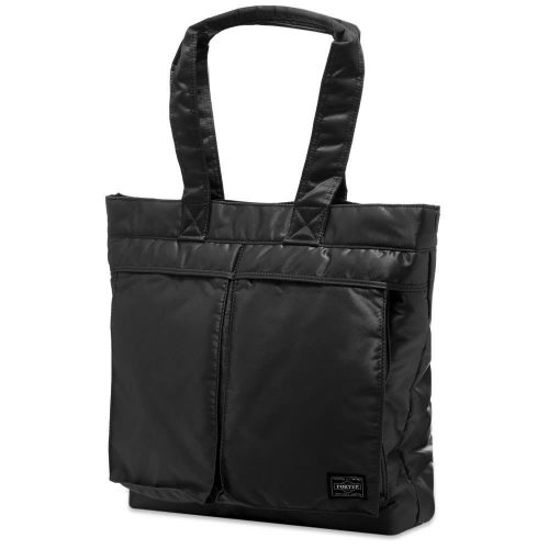 Mens Porter Yoshida & Co Tote Bag in Black