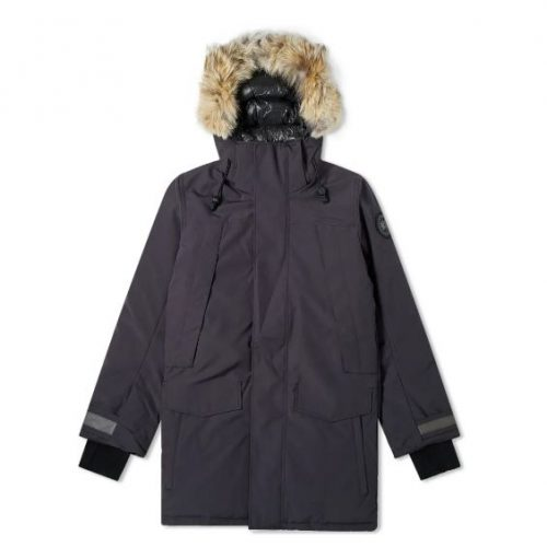 Mens Canada Goose Black Label Sherridon Parka Jacket in Navy