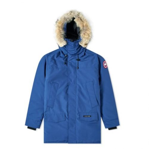 Mens Canada Goose Langford Parka Jacket in Blue