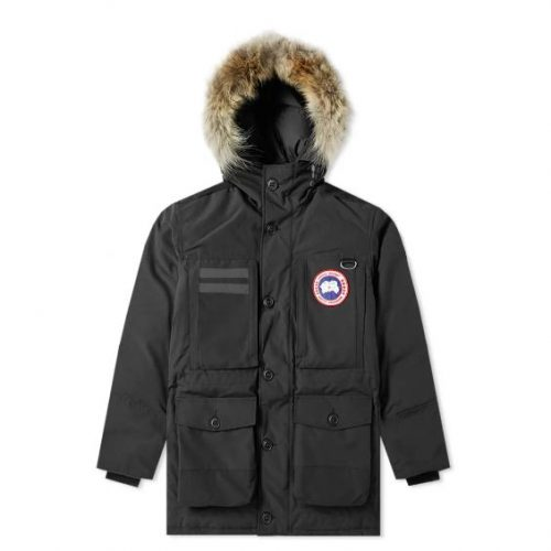Mens Canada Goose Maccullouch Parka Jacket in Black