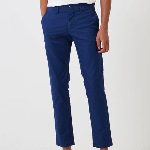 Mens Carhartt WIP Sid Pant Chino Trousers (Slim) in Metro Blue