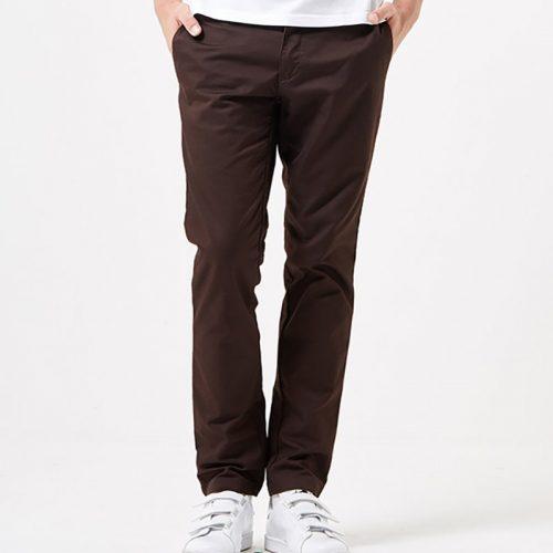 Mens Carhartt WIP Sid Pant Chino Trousers (Slim) in Tobacco Brownco Brown | URBAN EXCESS.