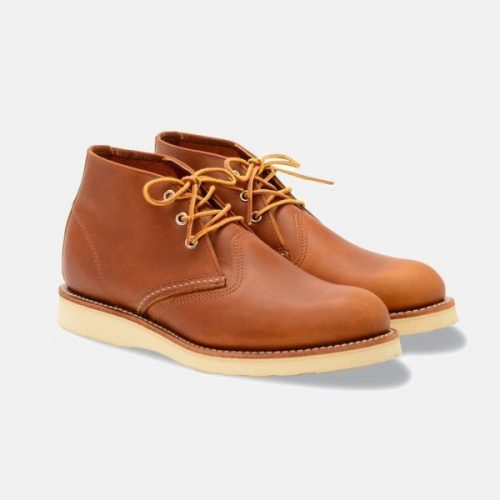 Mens Red Wing Chukka Boots in Tan