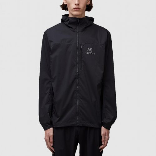 Mens ARC'TERYX Squamish Hooded Jacket in Black