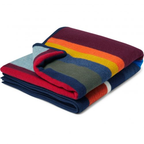 Mens Best Made Company The Anniversary Axe Wool And Cotton-blend Blanket in Multi