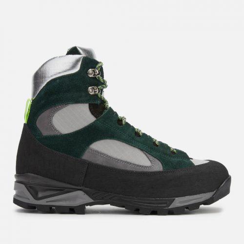 Mens Diemme Civetta Hiking Boots in Dark Green