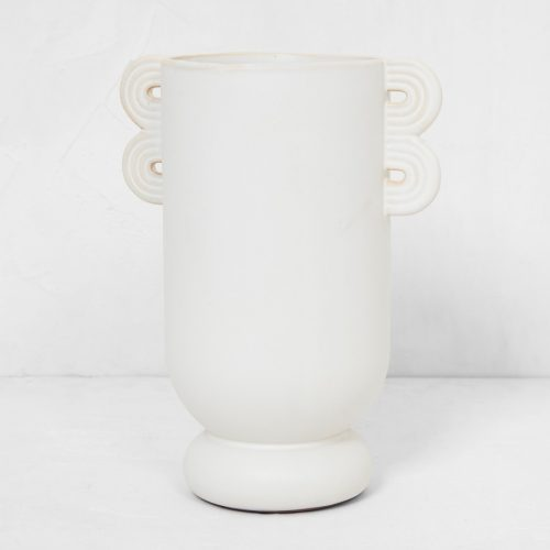 Mens Ferm Living Muses Ania Vase in White