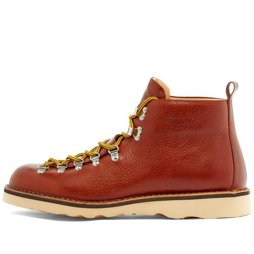 Mens Fracap M120 Natural Vibram Sole Scarponcino Boots in Brown