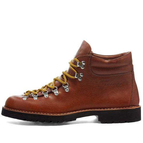 Mens Fracap M127 Roccia Vibram Sole Scarponcino Boots in Brown Tumble
