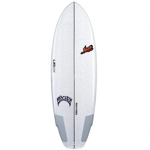Mens Lib Tech X Lost Puddle Jumper 5'3 Surfboard in White