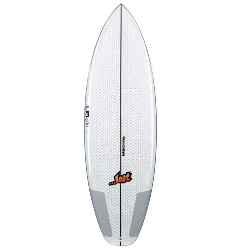 Mens Lib Tech X Lost Puddle Jumper HP 5'6 Surfboard in White