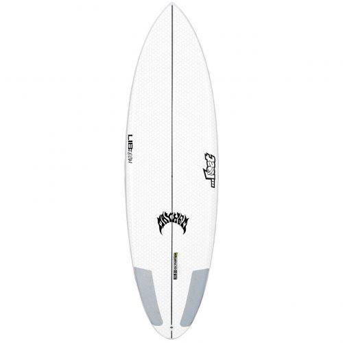 Mens Lib Tech X Lost Quiver Killer 5'10 Surfboard in White