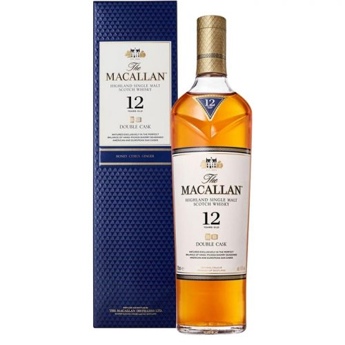 Mens Macallan 12 Year Old Double Cask Single Malt Scotch Whisky