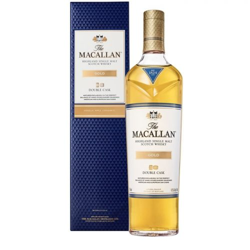 Mens Macallan Gold Double Cask Single Malt Scotch Whisky