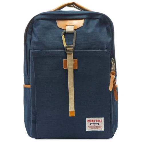Mens Master-Piece Link Series Backpack in Navy