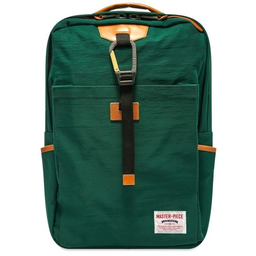 Mens Master-Piece Link Series Backpack in Green