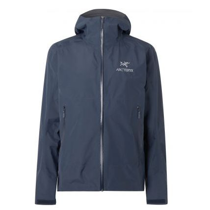 Mens Arc'teryx Zeta Sl Slim-fit Gore-tex Hooded Jacket in Blue