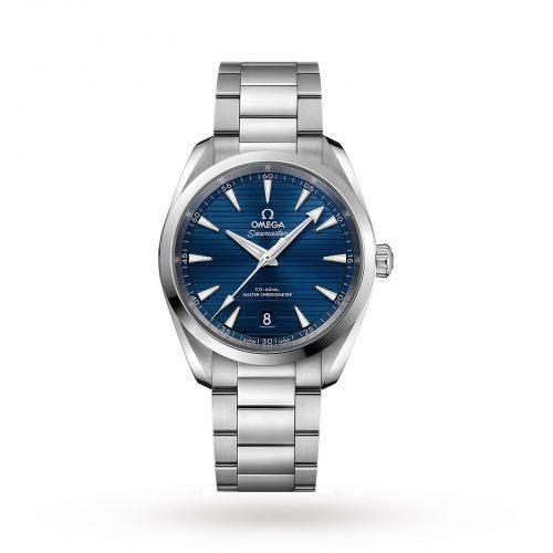 Mens Omega Seamaster Aqua Terra 150m Co-Axial 38mm Watch in Blue