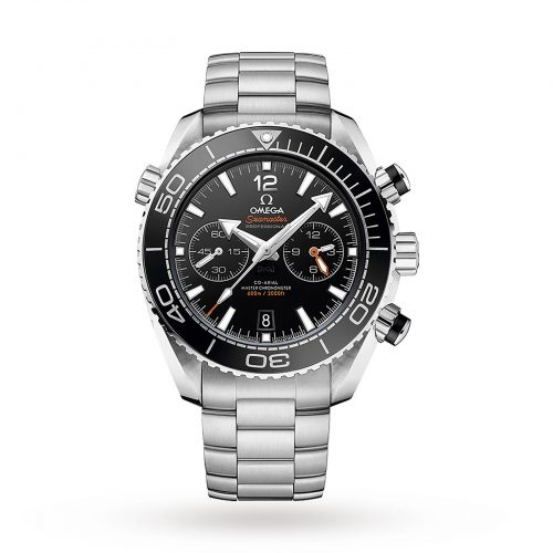 Mens Omega Seamaster Planet Ocean 600m Co-Axial 45.5mm Watch in Black