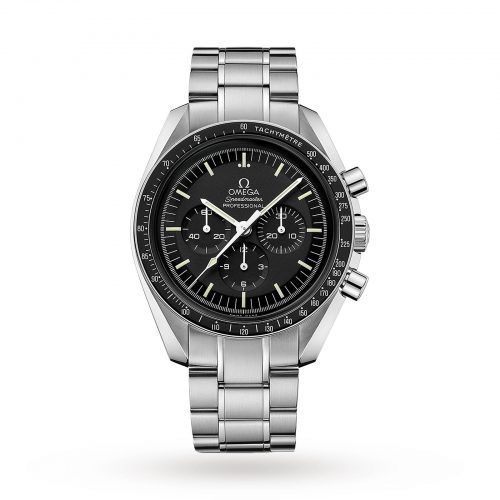 Mens Omega Speedmaster Moonwatch Professional 42mm Watch in Black