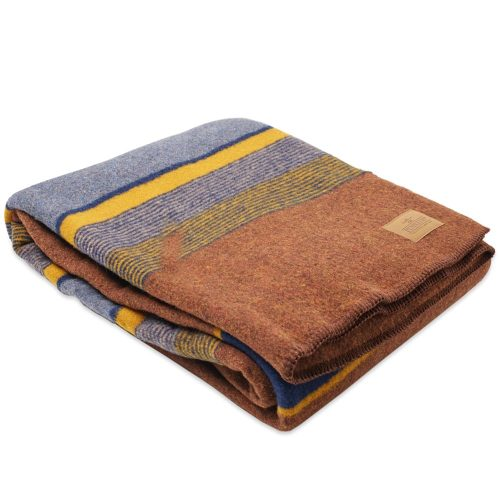 Mens Pendleton Yakima Twin Wool Blanket with Carrier in High Ridge