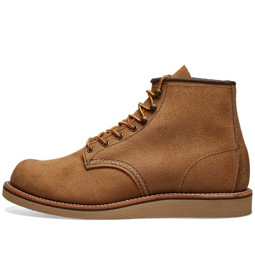 Mens Red Wing 2953 Heritage Work Rover Boots in Hawthorne Brown