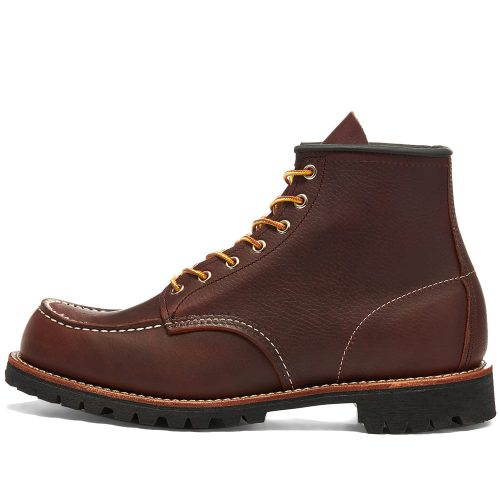 Mens Red Wing 8146 Roughneck Work Boots in Briar Brown
