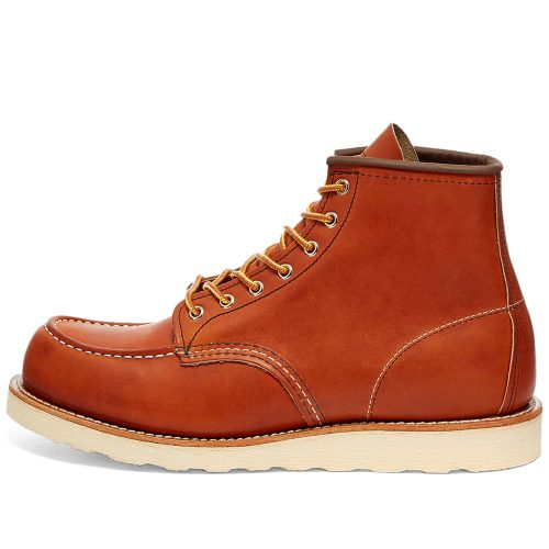 "Mens Red Wing 875 Heritage Work 6"" Moc Toe Boots in Oro-Legacy"