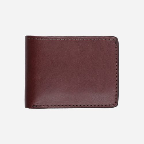 Mens Tanner Goods Utility Wallet in Brown