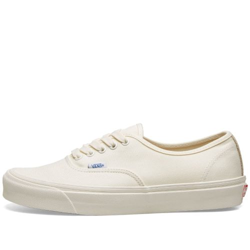 Mens Vans Vault OG Authentic LX Sneakers in White & Safari