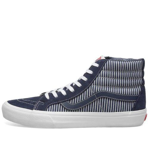 Mens Vans Vault x Mount Vernon Mills Sk8-Hi Reissue VLT LX Sneakers