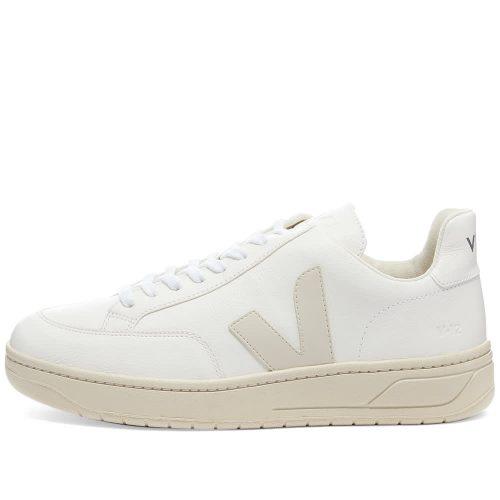 Mens Veja V-12 Sneakers in All White