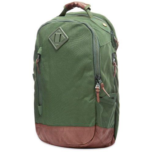 Mens Visvim Cordura 20L Backpack in Green