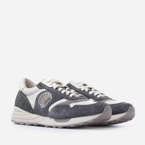 Mens Visvim Roland Jogger Sneakers in Grey