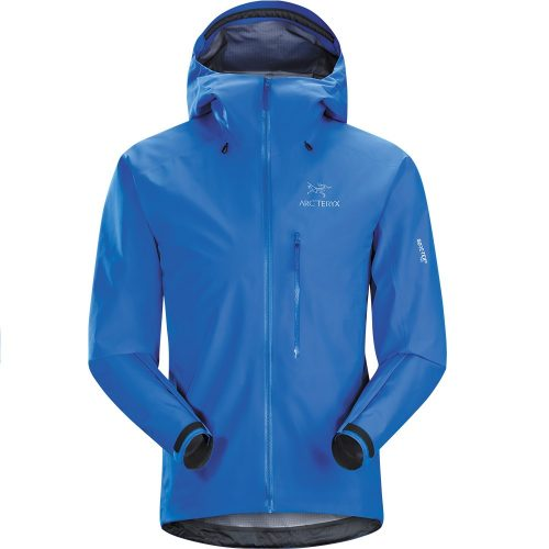 Mens Arc'teryx Alpha FL GORe-TeX Pro Waterproof Jacket in Rigel Blue