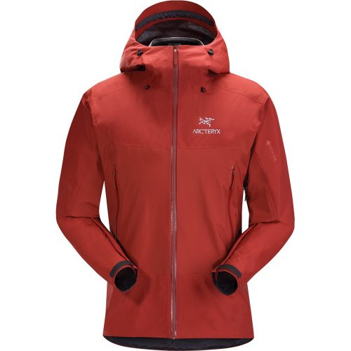 Mens Arc'teryx Beta SL Hybrid GORe-TeX PACLITe Plus Jacket in Infrared Red