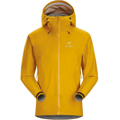 Mens Arc'teryx Beta SL Hybrid GORe-TeX PACLITe Plus Jacket in Nucleus Yellow