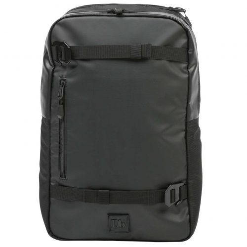 Mens douchebags The Scholar Backpack in Black Out