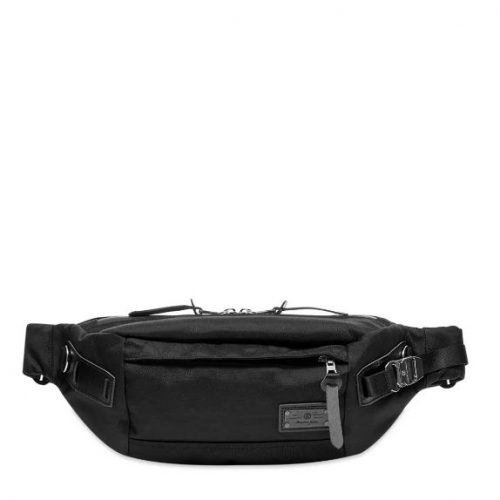 Mens Master-Piece Hunter Waist Bag in Black