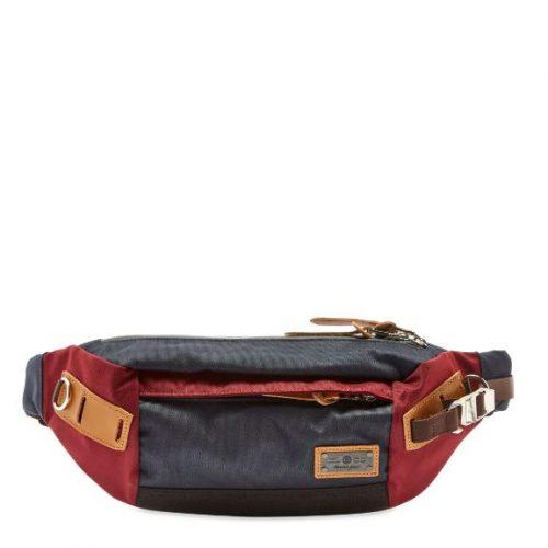 MensMaster-Piece Hunter Waist Bag in Navy