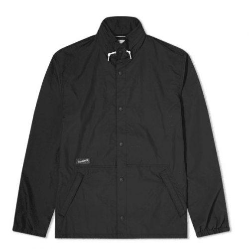 Mens Nanamica Coach Jacket in Black