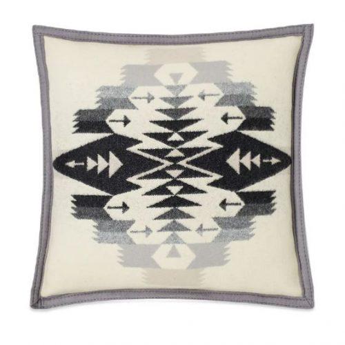 Mens Pendleton Down-Filled Wool-Blend Cushion in Ash