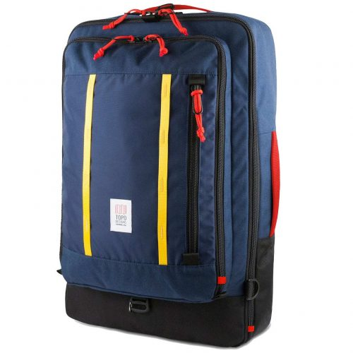 Mens TOPO Designs Travel 40L Backpack in Navy