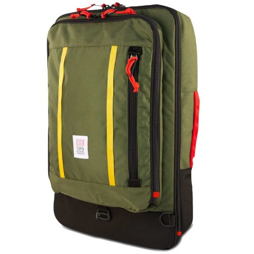 Mens TOPO Designs Travel 40L Backpack in Olive
