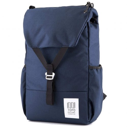 Mens TOPO Designs Y Backpack in Navy