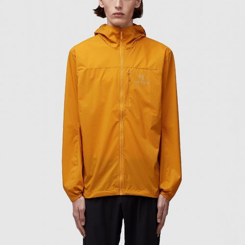 Mens ARC'TERYX Squamish Hooded Jacket in Yellow