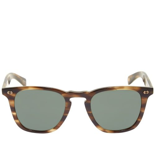 Mens Garrett Leight Brooks X 48 10th Anniversary Limited Edition Sunglasses in Brown Tortoise Shell